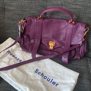 Proenza Schouler 💯 Authentic PS1 Purple Satchel
